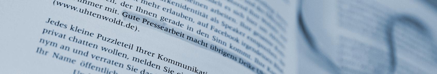 Aus: Hermann Scherer, Der Weg zum Top-Speaker, Seite 72